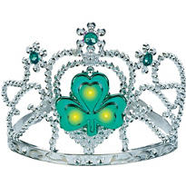 Light-Up St. Patricks Day Tiara