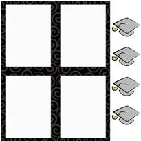 Graduation Day Printable Invitation Kit 25ct
