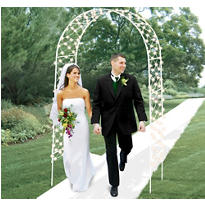 Light-Up Wedding Arch