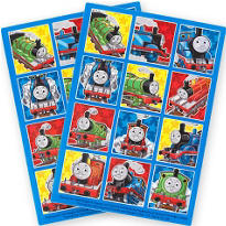 Thomas the Tank Engine Stickers 24ct