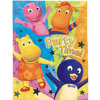 The Backyardigans Invitations 8ct