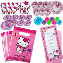 Hello Kitty Favor Pack 48pc