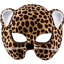 Brown Jungle Cat Mask