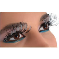 Black Tinsel False Eyelashes