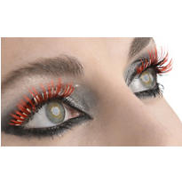 Red Devil False Eyelashes