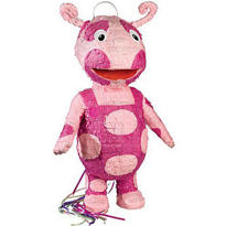 Pull String Uniqua Backyardigans Pinata 22in