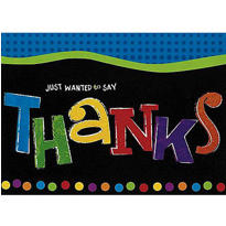 Punchy Birthday Thank You Notes 8ct