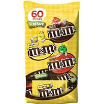 Fun Size Chocolate M&M's Variety Mix 55pc