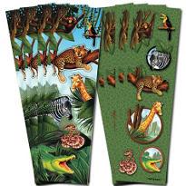 Safari Stickers 8 Sheets