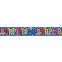 Metallic Surprise Banner