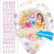 Disney Princess Personalized Foil Balloon 18in