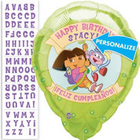 Dora the Explorer Personalized Foil Balloon 18in