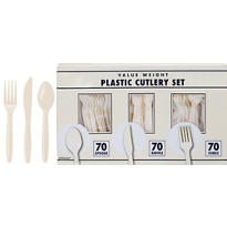 Vanilla Cutlery Set 210pc