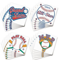 Baseball Tattoos 24ct