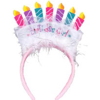 Birthday Girl Tiara Headband