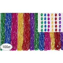 Multicolor Beads Bucket 120ct