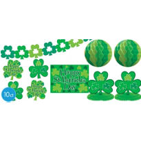 St. Patricks Day Decorating Kit 10pc