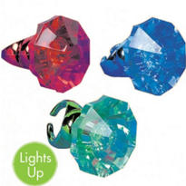 Let's Party Giant Light-Up Ring 4in