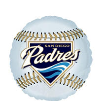 San Diego Padres Foil Balloon 18in