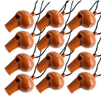 Football Mini Whistles 12ct