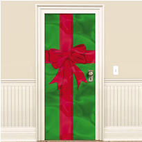 Foil Christmas Door Decoration 78in