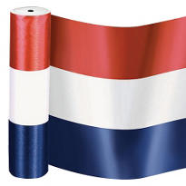 Satin Patriotic Ribbon Roll