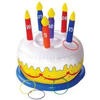 Birthday Cake Ring Toss Game