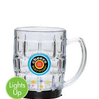 Light-Up Birthday Beer Mug 18oz