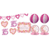Mis Quince Blossom Decorating Kit 10pc
