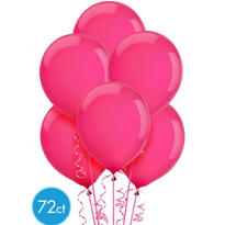 Magenta Latex Balloons 12in 72ct