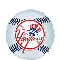 New York Yankees Foil Balloon 18in
