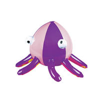Inflatable Octopus Beach Ball 9in
