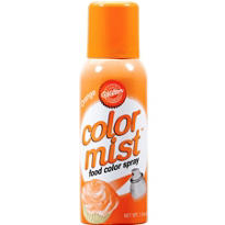 Orange Color Mist
