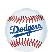 Los Angeles Dodgers Foil Balloon 18in