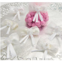 Beautiful Bow Wedding Favor Ties