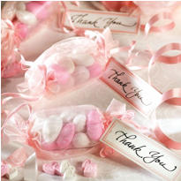 Pink Wrapper Favor Kit