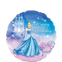Foil Cinderella Birthday Balloon 18in