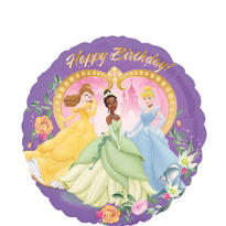 Foil Heart Disney Princess Birthday Balloon 18in