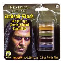 Undead Makeup Stack