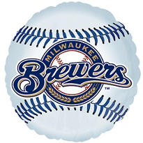 Milwaukee Brewers Foil Balloon 18in