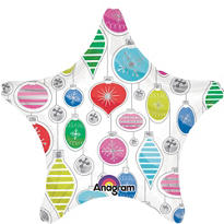 Ornament Star Balloon 19in