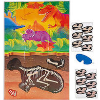 Prehistoric Dinosaurs Party Game
