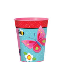 Garden Girl Favor Cup 16oz