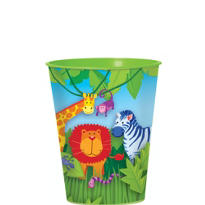 Jungle Animals Favor Cup 16oz