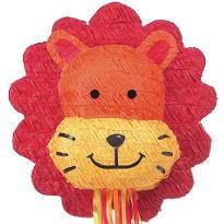 Pull String Lion Pinata