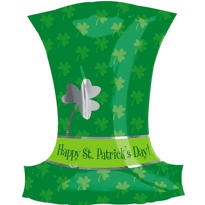 Foil Top Hat St. Patricks Day Balloon 20in