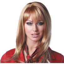 Angel Premium Shoulder-Length Honey Light Blonde Wig