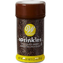 Chocolate Jimmies 2 1/2oz