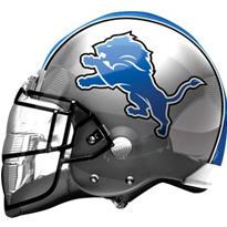 Detroit Lions Helmet Foil Balloon 26in