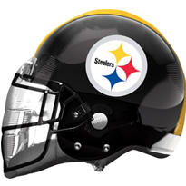 Pittsburgh Steelers Helmet Foil Balloon 26in